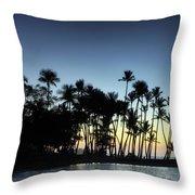 A-bay Aloha Throw Pillow