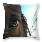 A Bay View Throw Pillow