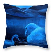 A Beautiful Night Throw Pillow