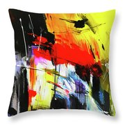 A Beautiful Soul Emerges From A Dark Place Throw Pillow