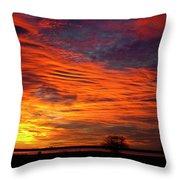 A Beautiful Valentines Sunrise Image Photo Throw Pillow