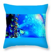 A Beautiful World Throw Pillow