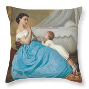 A Bedtime Prayer Throw Pillow