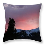 The Beginning Of A Beautiful Day Throw Pillow
