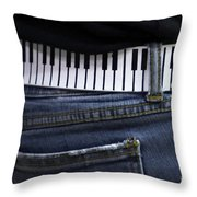 A Belt Of Cords Throw Pillow