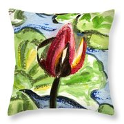 A Birth Of A Life Throw Pillow