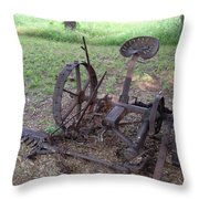 A Bit Of History Throw Pillow