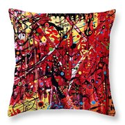 Is A Black Cloud Coming This Way Throw Pillow