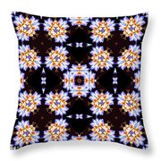 A Blast Of Winter Throw Pillow