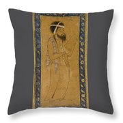 A Blue-eyed Dervish Throw Pillow