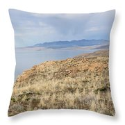 A Blue Sky Day 3 Throw Pillow