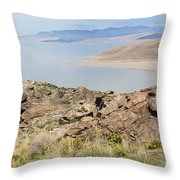 A Blue Sky Day 5 Throw Pillow