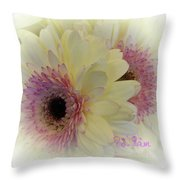 A Bouquet For My Love 20 Throw Pillow