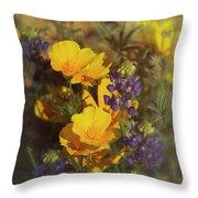 A Bouquet Of Spring  Throw Pillow