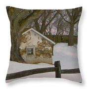 A Brandywine Winter Throw Pillow