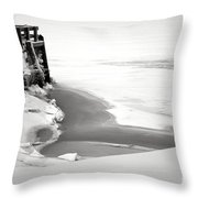 A Break In The Kennebec Throw Pillow