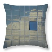 A Break In The Weather Throw Pillow