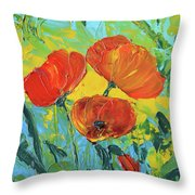 A Breath Of Spring Throw Pillow