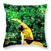A Breath - Still - In The Moment Throw Pillow
