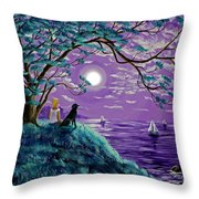 A Breeze From The Bay Throw Pillow