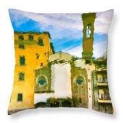 A Breeze Over Florence Throw Pillow