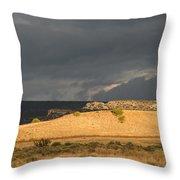 A Brewing Storm Throw Pillow