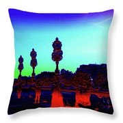 A Bridge Darkly 1 Throw Pillow