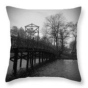 Homage To Spring Lake Throw Pillow