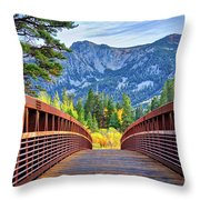 A Bridge To Beauty Throw Pillow