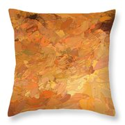 A Burst Of Sunshine In Winter Throw Pillow