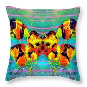 A Butterfly For 2006 Throw Pillow