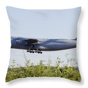 A C-5a Galaxy Of The U.s. Air Force Throw Pillow
