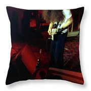 A C Winterland Bong 2 Throw Pillow