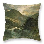 A Canyon Throw Pillow