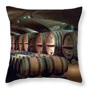 A Cellar Of Burgundy Throw Pillow