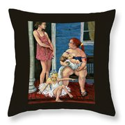 A Certain Dignity Throw Pillow