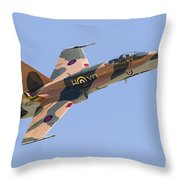 A Cf-188 Hornet Of The Royal Canadian Throw Pillow