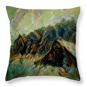 A Chance In The World Movie Dark Barn Crowded Into A Gully Between A Large Rocky Hill And A Grove Of Throw Pillow