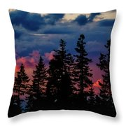 A Chance Of Thundershowers Throw Pillow
