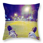 A Change In Perspective Throw Pillow by Guy Ricketts