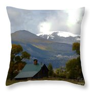A Change In Season Throw Pillow
