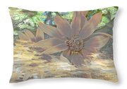 A Christmas Dream By Beverly Guilliams Throw Pillow