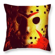 A Cinematic Nightmare Throw Pillow