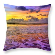 A City In The Clouds Throw Pillow