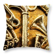A Classical Composition Throw Pillow