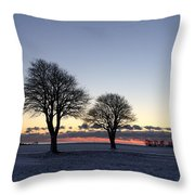 A Clear Day Throw Pillow