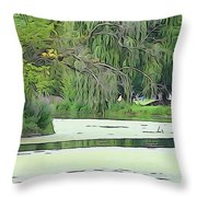 A Clearer Path Throw Pillow
