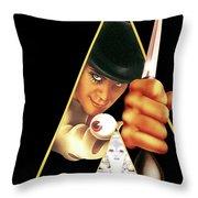 A Clockwork Orange 1971 Throw Pillow