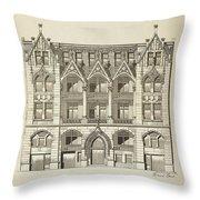 A Collection Of Modern Designs Throw Pillow