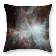 A Colony Of Hot Young Stars Throw Pillow by Stocktrek Images